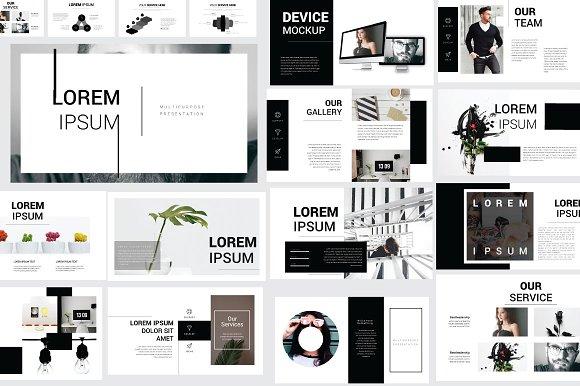 Lorem Ipsum Keynote Template