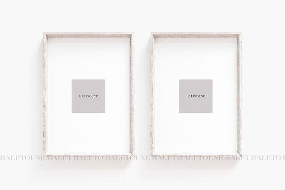 Mockup Set Of 2 Frames Mock Up