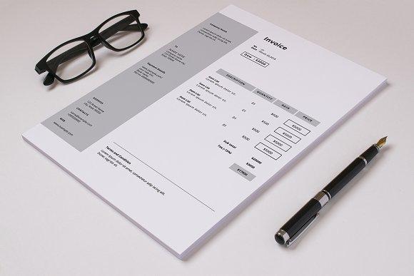 Minimal Invoice V10