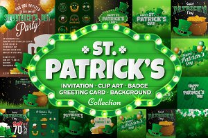 St.Patrick's Day Clip Art Collection