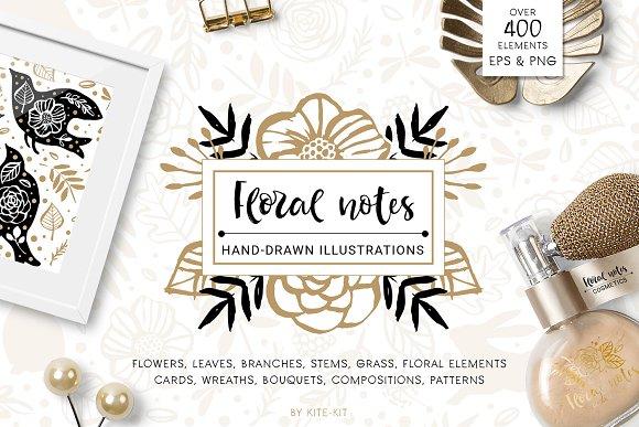 Hand-drawn Illustration Pack