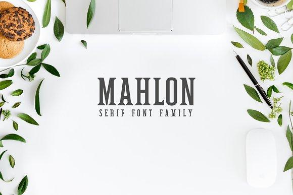 Mahlon Serif 3 Font Family Pack