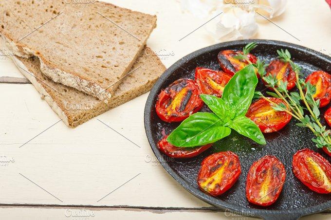 baked cherry tomatoes 024.jpg - Food & Drink