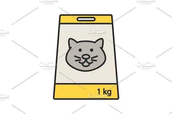 Pet Nutrition Color Icon