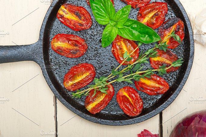 baked cherry tomatoes 034.jpg - Food & Drink