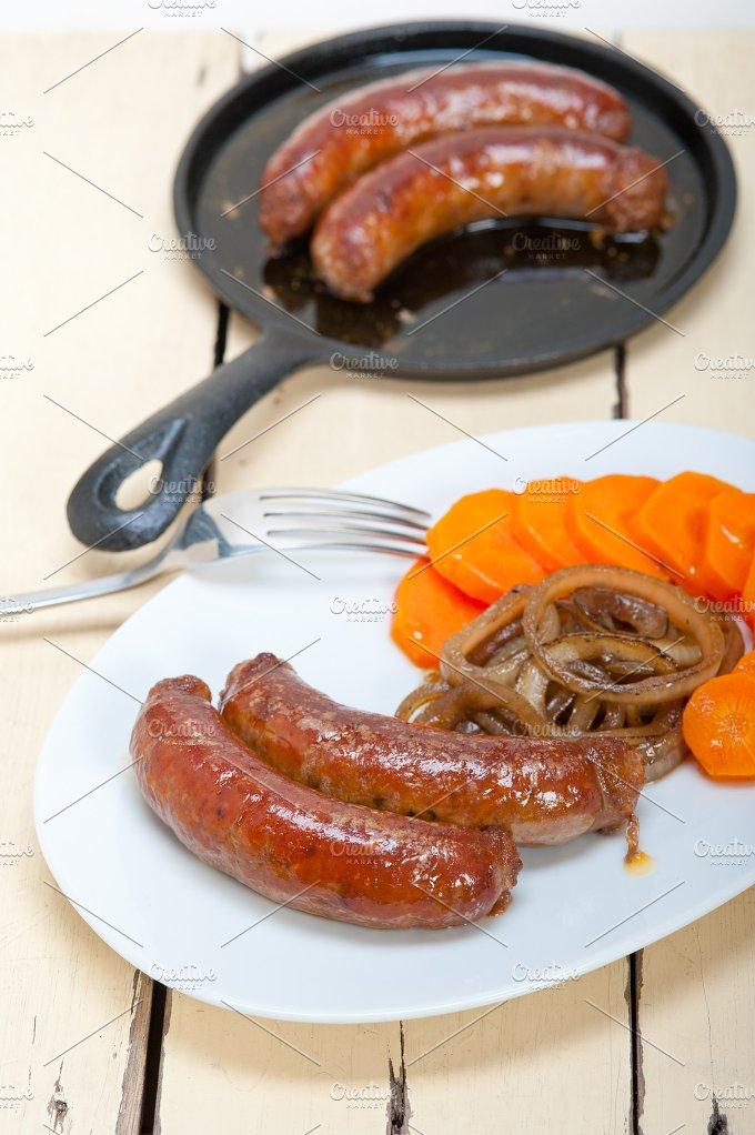 beef sausages 005.jpg - Food & Drink