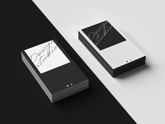 Business Card Template Design Studio