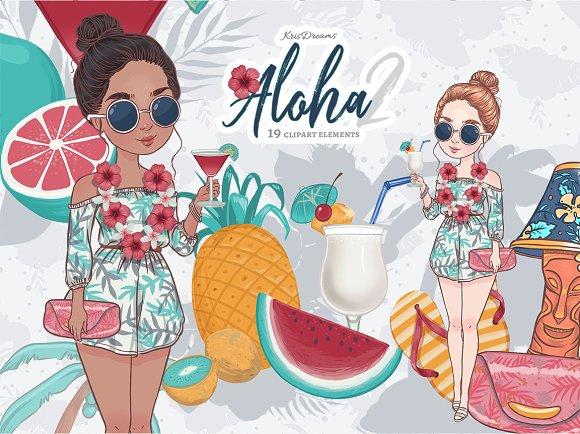 Aloha Lilo Clipart 2