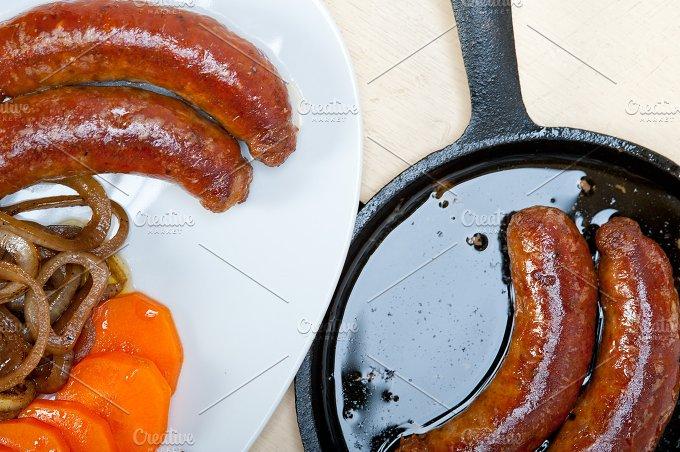 beef sausages 013.jpg - Food & Drink