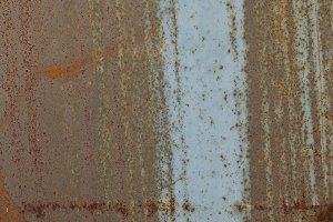texture of old metal with rust