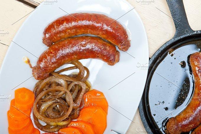 beef sausages 014.jpg - Food & Drink