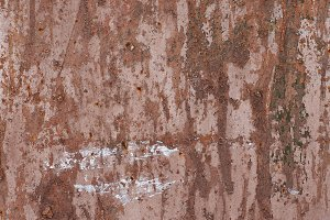 texture of the old metal