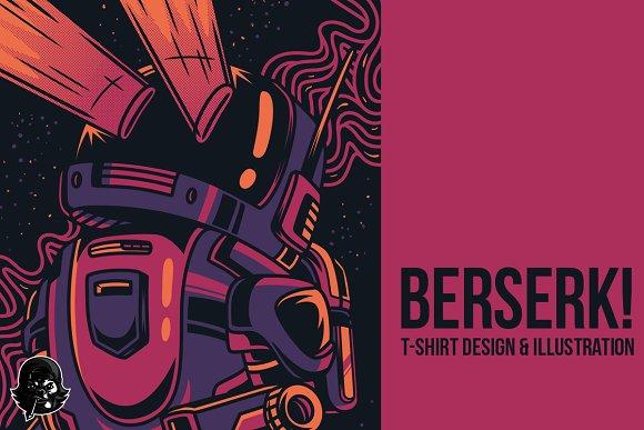 Berserk! Illustration