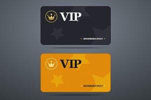 Vip card template