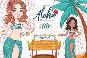 Aloha Lilo Clipart 1