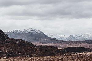 Fading Winter in Scotland