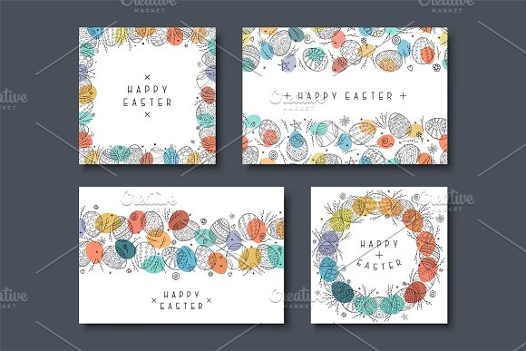 Collecton Of Happy Easter Cards
