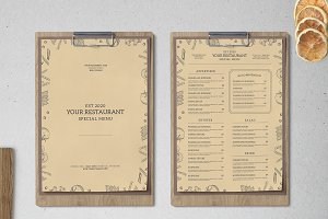 Food Menu Vol. 2
