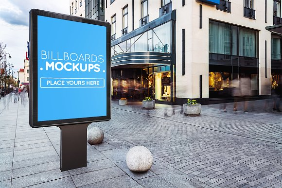 14 Billboards Mockups V.6 #R