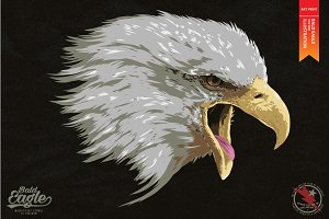 BALD EAGLE - Vector illustration
