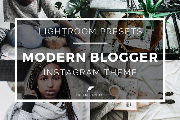 Modern Blogger Lightroom Presets IG