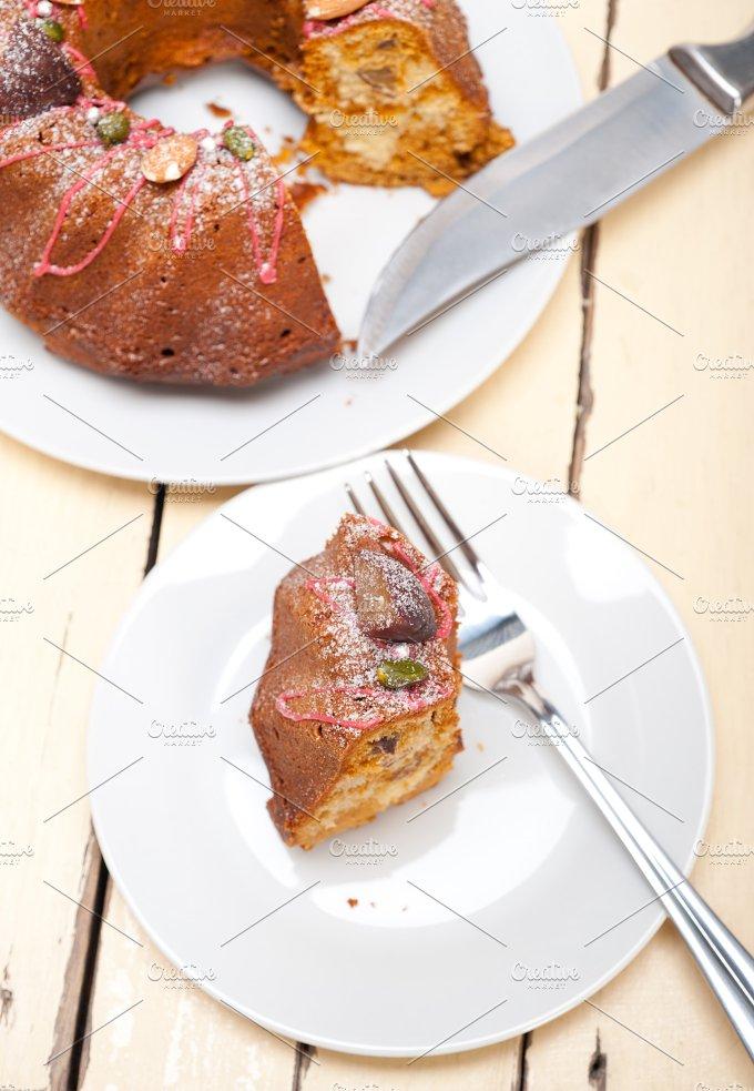 festive chestnut dessert cake 002.jpg - Food & Drink