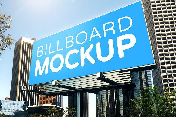 Billboard Mockup #R23