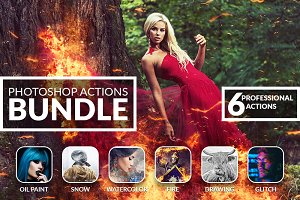 PRO Photoshop Actions Bundle