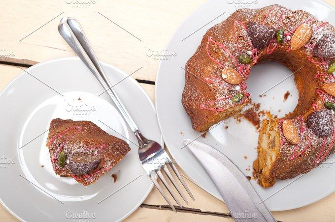 festive chestnut dessert cake 015.jpg - Food & Drink