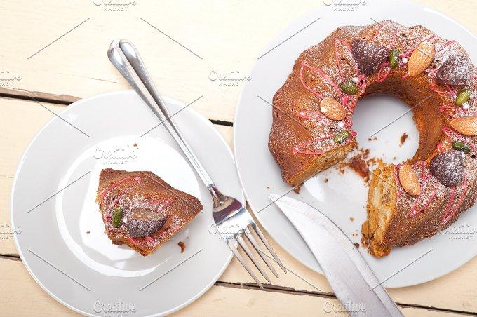 festive chestnut dessert cake 016.jpg - Food & Drink