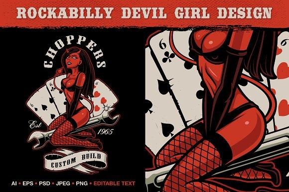 Rockabilly Devil Girl
