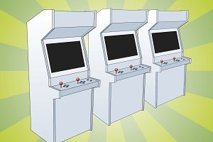 Classic Arcade Game Machines