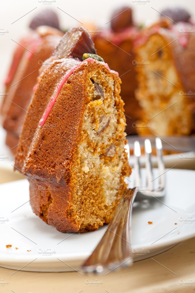 festive chestnut dessert cake 039.jpg - Food & Drink