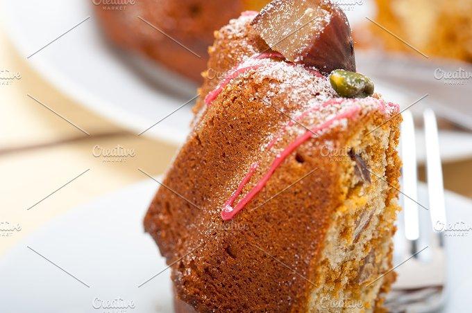 festive chestnut dessert cake 047.jpg - Food & Drink