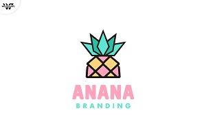 ANANAS Logo Template