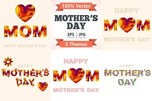 Mothers Day Invitation Cards