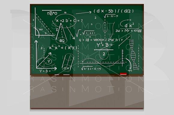 Chalkboard Maths Scientific