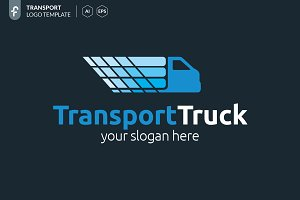 Transport Truck Logo