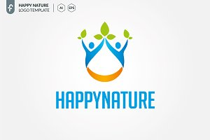 Happy Nature Logo