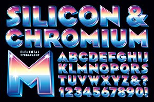 Lettering Design: Silicon & Chromium