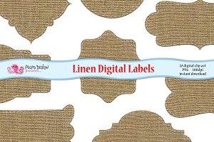 Linen Digital Labels