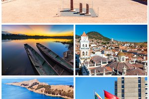 Pack of 40 Photos from Bolivia