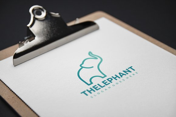 Elephant Logo in Logo Templates - product preview 2