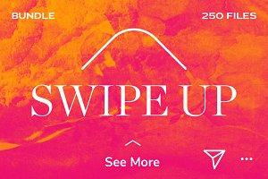 Instagram SWIPE UP Bundle! 250!