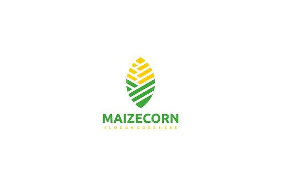 Maize Corn Logo