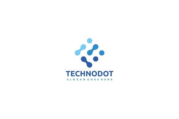 Technology Dots Logo