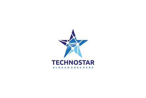 Tech Star Logo