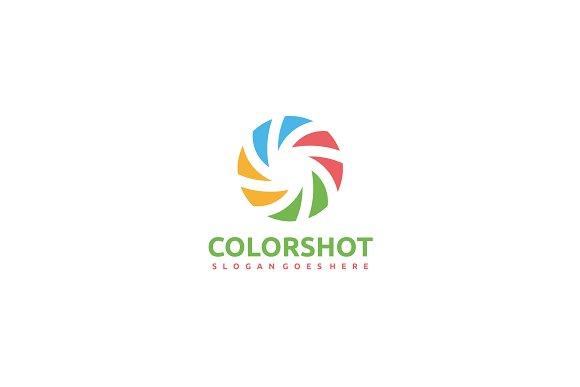 Photography -Colorful Logo