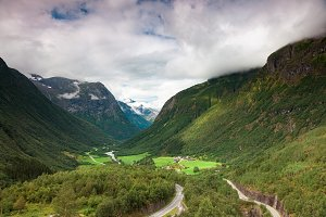 A scene in Northern Norway