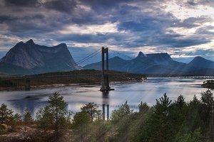 Norway Lofoten Bridge